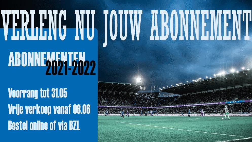 Abonnement 2021-2022
